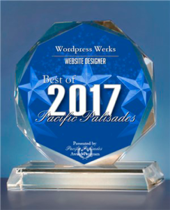 Pacific Palisades Best Web Designer Award
